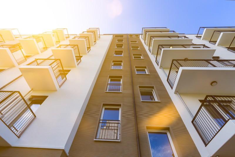 Ravalement de façades immeuble