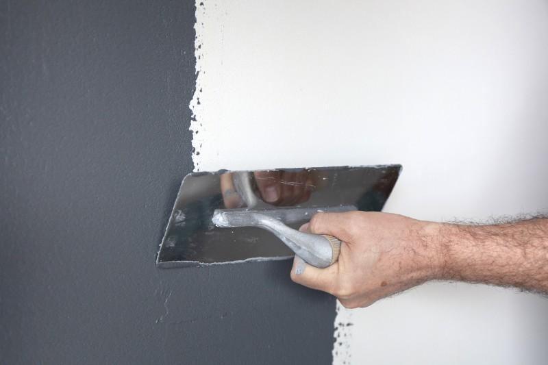 Pose revêtement de murs